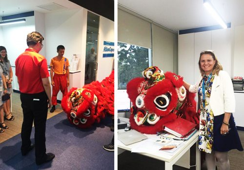 Chinese New Year at Atlas Copco